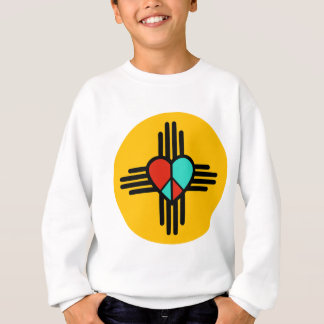 Love, New Mexico, Peace Sweatshirt