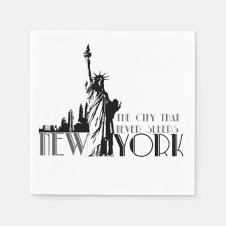 Love New York Disposable Napkins