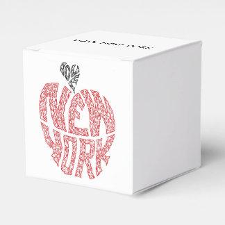 LOVE NEW YORK - THE BIG APPLE FAVOR BOX