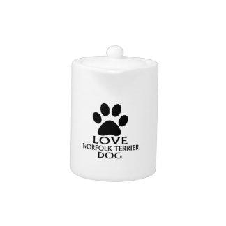 LOVE NORFOLK TERRIER DOG DESIGNS