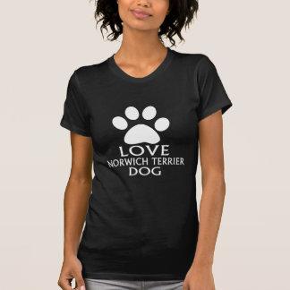 LOVE NORWICH TERRIER DOG DESIGNS T-Shirt