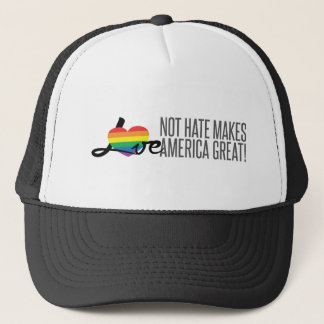 Love Not Hate (Rainbow) Trucker Hat