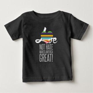 Love Not Hate (SWM) Baby Dark Jersey T-Shirt