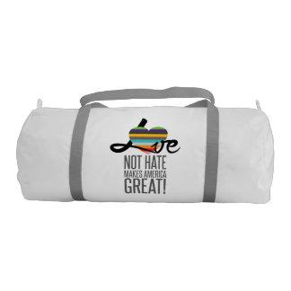 Love Not Hate (SWM) Duffel Bag