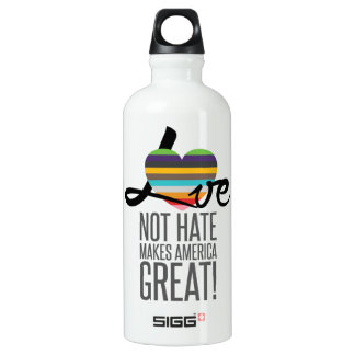 Love Not Hate (SWM) Sigg Water Bottle