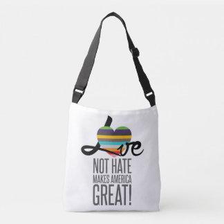 Love Not Hate (SWM) Sling Bag