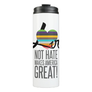 Love Not Hate (SWM) Thermal Tumbler