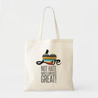 Love Not Hate (SWM) Tote Bag