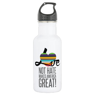 Love Not Hate (SWM) Water Bottle