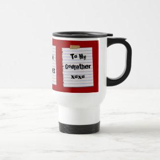 Love Notes For Godfather Mug