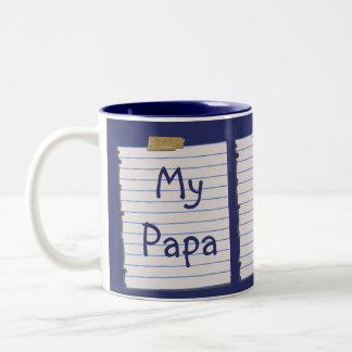Love Notes For Papa Mug