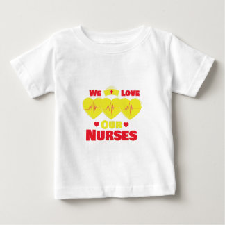 Love Nurses Baby T-Shirt