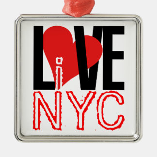 Love NYC Live In NYC Ornament