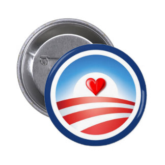 Love Obama Button