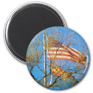 Love of Arizona and the USA 2 Inch Round Magnet