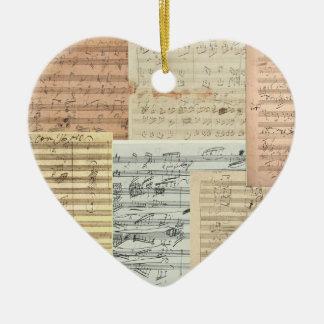 Love of Beethoven Ornament Pendant