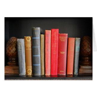 Love of Classic Books Card