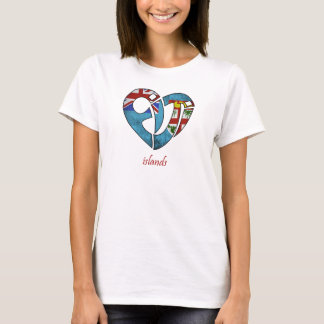 Love of Fiji Islands Flag T-Shirt