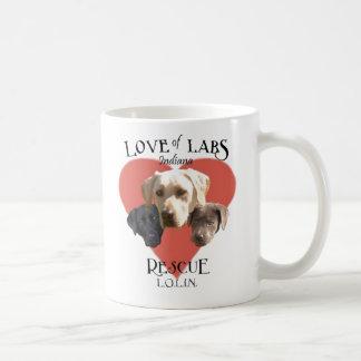 Love of Labs, Indiana Coffee Mug