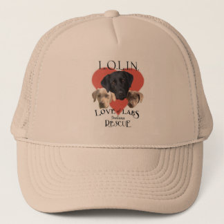 Love of Labs Khaki hat