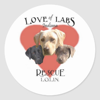 Love of Labs Sticker