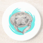 LOVE OF MANATEE COASTER
