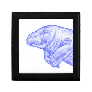 LOVE OF MANATEE JEWELRY BOX