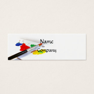 Love Of Painting Business Card (Skinny)