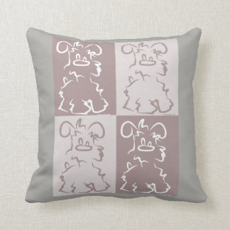Love of Schnauzer Pillow