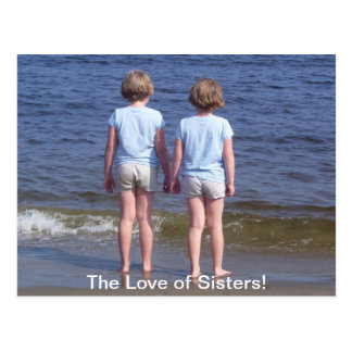Love of Sisters Postcard