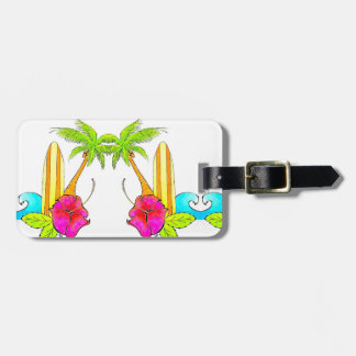 Love of Surf Sunshine Luggage Tag