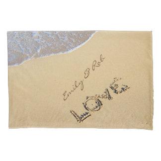 Love On A Beach Custom Pillow Case Pillowcase