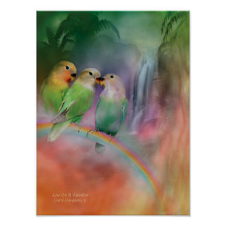 Love On A Rainbow Art Poster/Print Poster