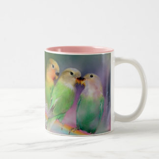 Love On A Rainbow Mug