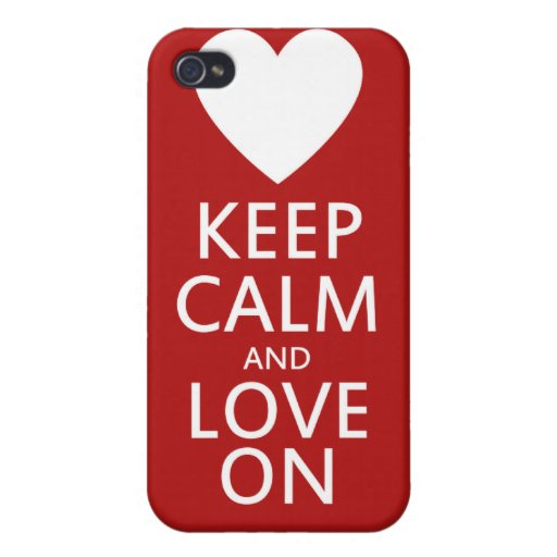 Love on for Valentines day iPhone 4/4S Case