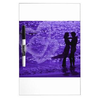 Love On The Beach Dry-Erase Whiteboard