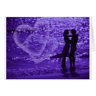 Love On The Beach Greeting Cards
