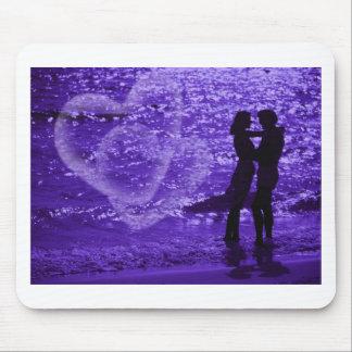 Love On The Beach Mousepads