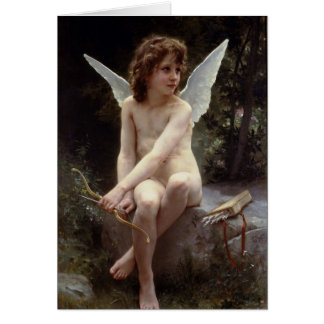 Love on the Lookout by William Bouguereau Card