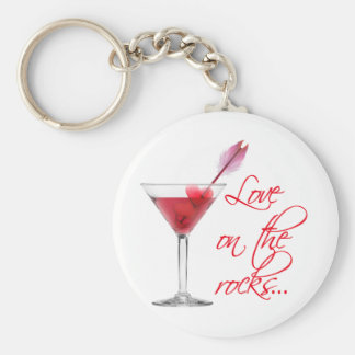 love on the rocks keychain