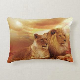 Love on the Savannah Decorative Pillow