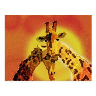 Love On The Serengeti Postcard