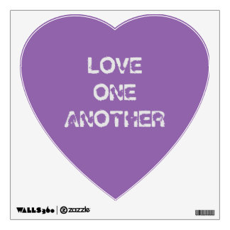 LOVE ONE ANOTHER WALL STICKER