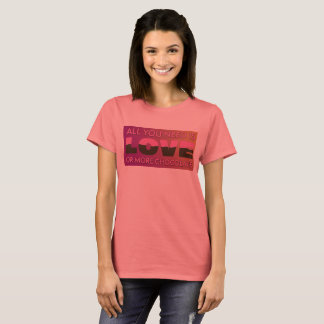 Love or Chocolate Basic T-Shirt