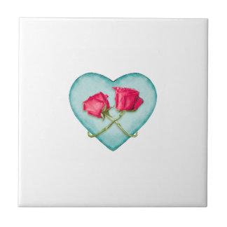 Love Ornate Motif Print Tiles
