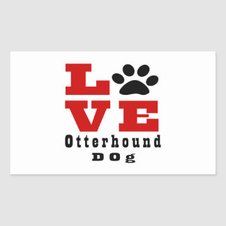 Love Otterhound Dog Designes