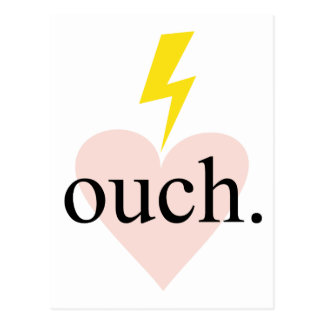 Love Ouch Postcard
