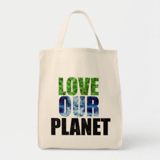 LOVE OUR PLANET tote