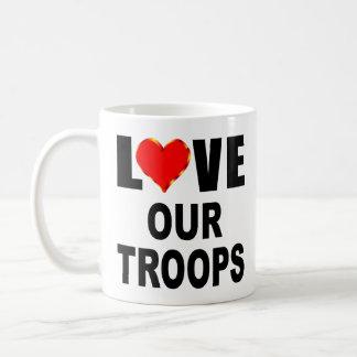 Love Our Troops Coffee Mug