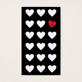 love outcast business card